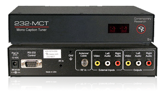 232-MCT Mono Caption Tuner
