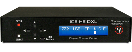 ICE-HE-DXL Display Control Center
