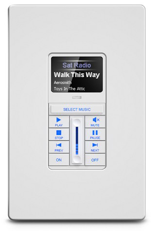 KX1 In-Wall Keypad