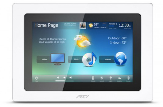 KX10 In-Wall Touchpanel