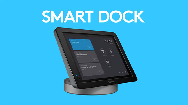 339fa065932 Logitech SmartDock meeting room solution, designed for Microsoft Skype® for  Business, works beautifully with your existing video displays and video  cameras ...